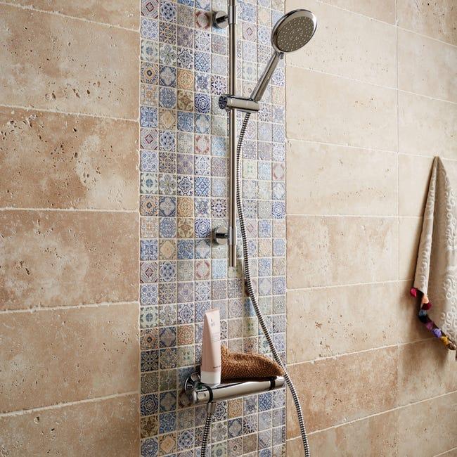 Mosaique Mur Renaissance Decore Multicolore 4 8 X 4 8 Cm Leroy Merlin
