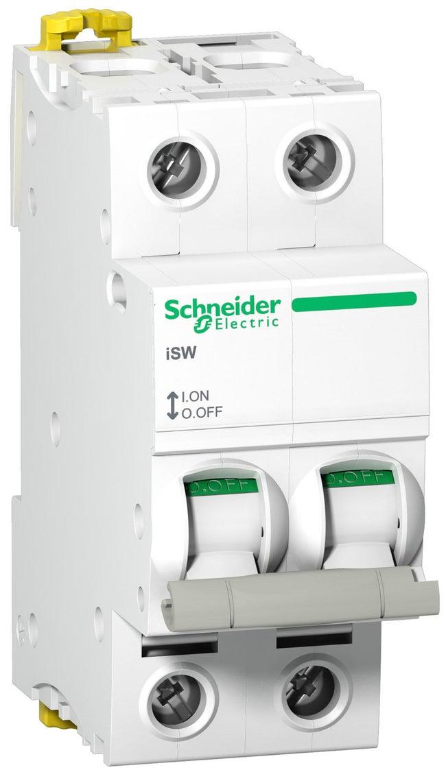 Interrupteur Bipolaire Schneider Electric 63 A 415 V