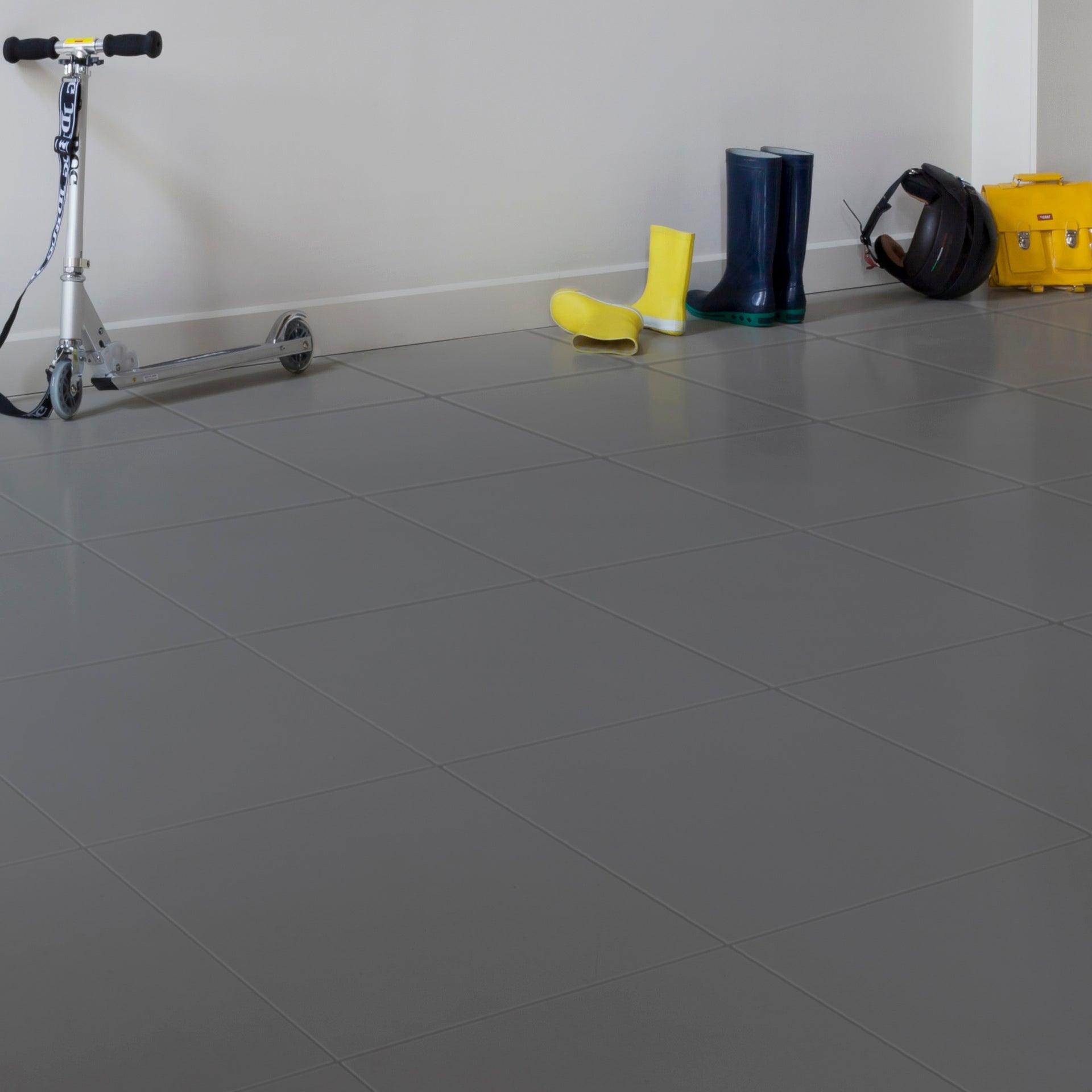 Peinture sol intérieur Carrelage décolab® V9, gris factory, 9 l
