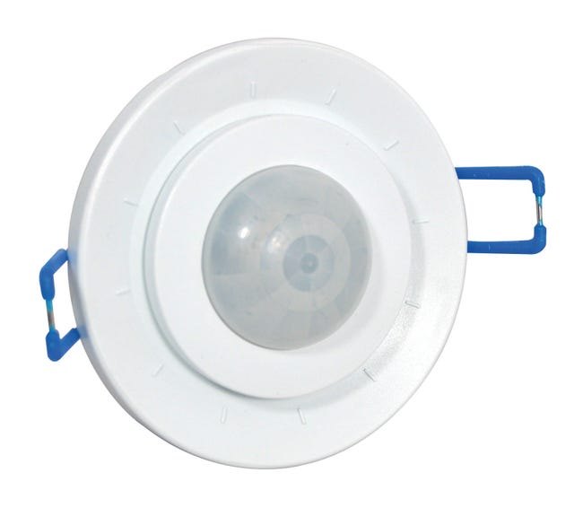 Detecteur De Mouvement A Encastrer 360 Plastique Blanc Leroy Merlin