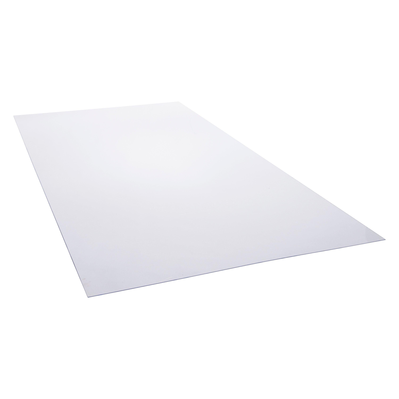 Plaque Polystyrene 2 5 Mm Transparente Lisse L 200 X 100 Cm Leroy Merlin