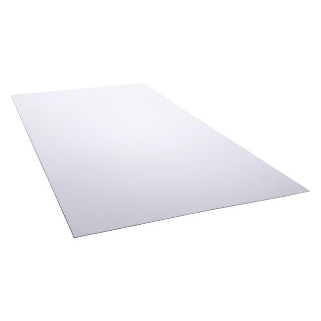 Plaque Polystyrene 2 5 Mm Blanc Lisse L 200 X 100 Cm Leroy Merlin