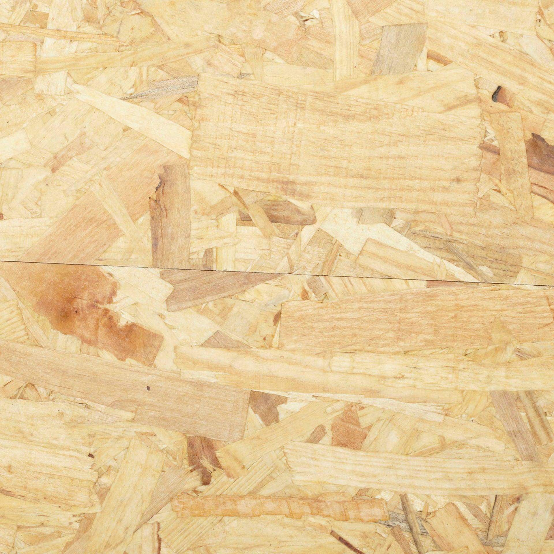 Dalle d'agencement osb 1 3 plis épicéa naturel SWISS KRONO, Ep.15 mm x L.205 x l