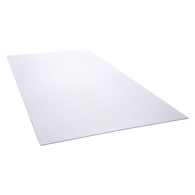 Plaque Polystyrene 5 Mm Blanc Lisse L 200 X 100 Cm Leroy Merlin