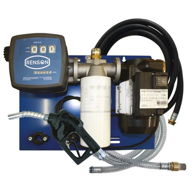 Station Pompe Transfert De Fuel Kit De Filtration Renson 116770 56 Lmin 05cv
