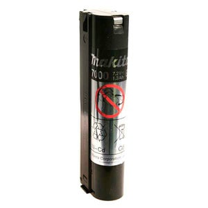 Image : Batterie MAKITA, 7.2 V, 1 Ah 198000-3 ni-cd