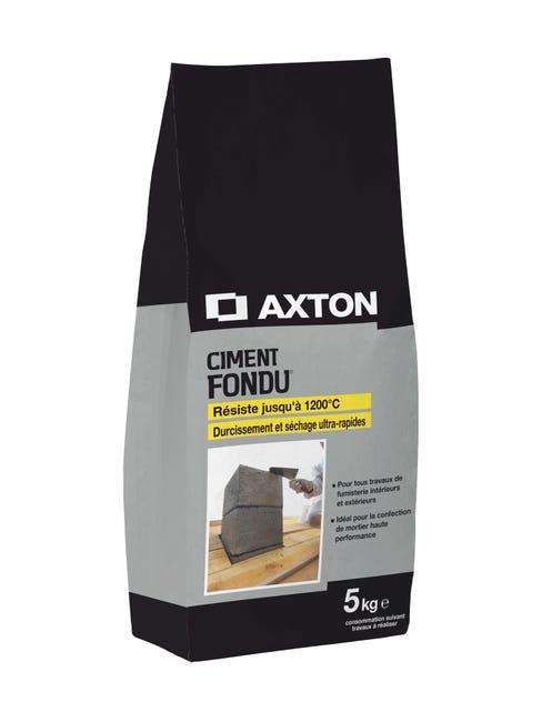Ciment Gris Refractaire Ce Axton 5 Kg Leroy Merlin