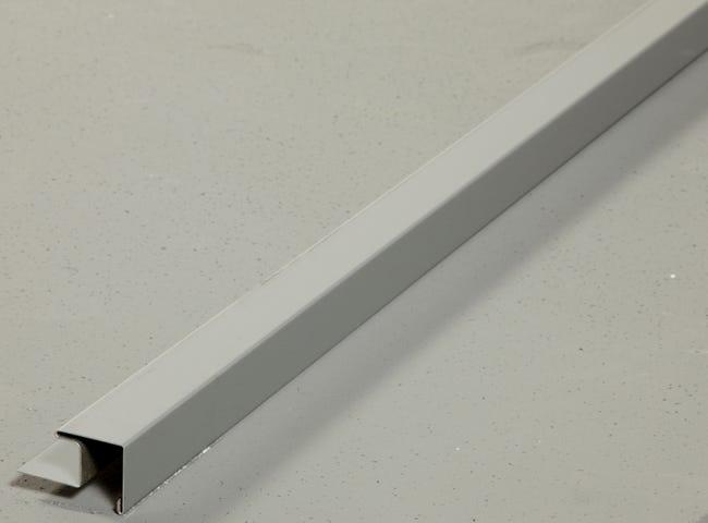 Baguette D Angle Sortant Aluminium 30 X 30 Gris 3 M Leroy Merlin
