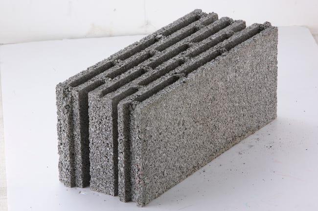 Bloc Beton Nf P 20 X H 50 X Ep 20 Cm Easytherm Leroy Merlin