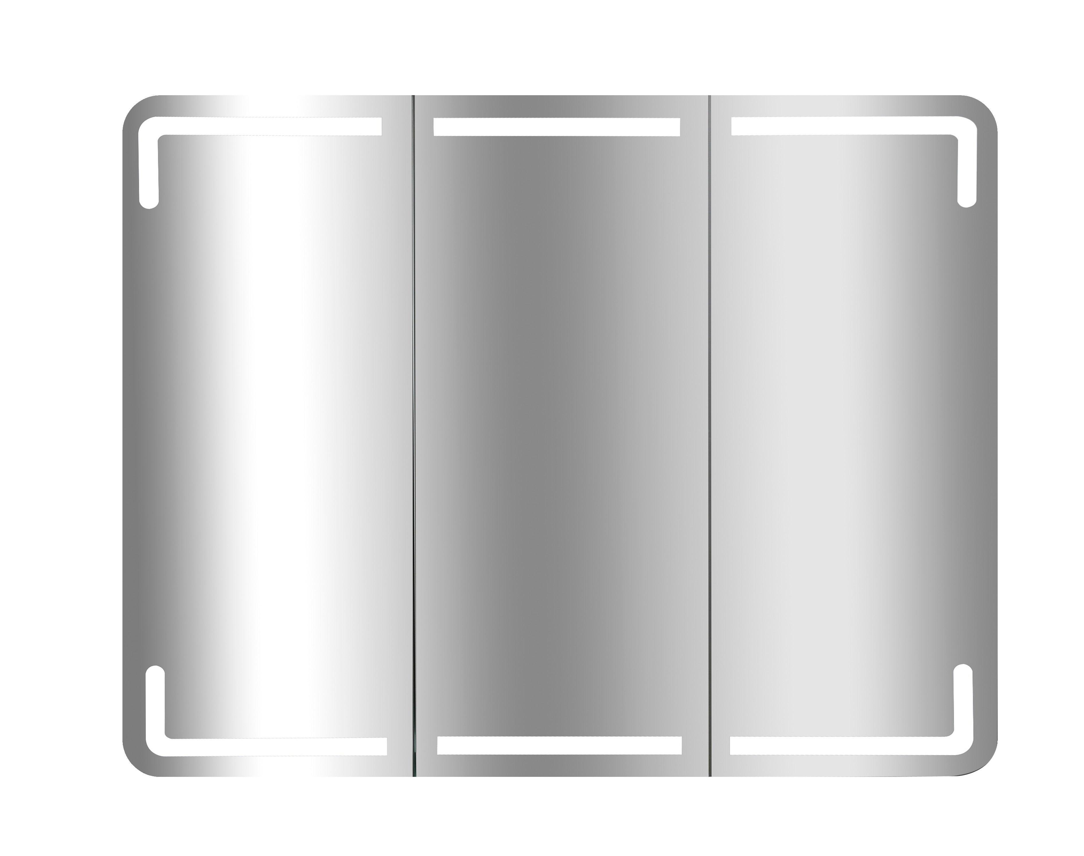 Armoire de toilette lumineuse l. 17 cm Estrella