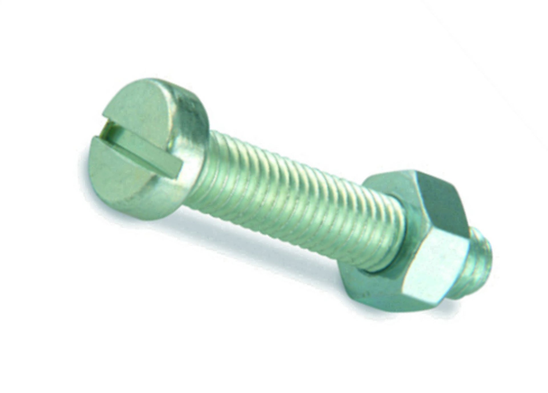 Lot de 20 microvis tête cylindrique acier zingué, L.20 x Diam.3 mm SUKI