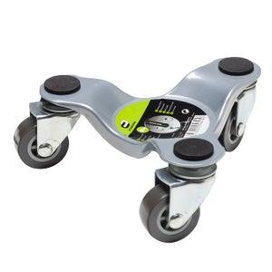 Support roulant pour meuble à pied acier, charge supportée 60 kg, STANDERS