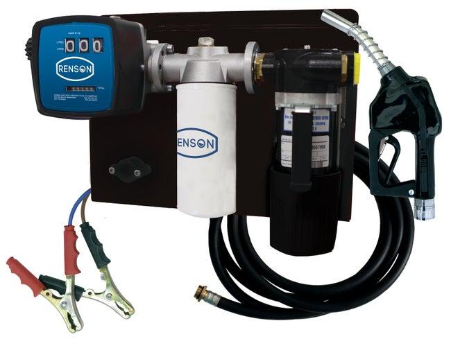 Station Pompe Transfert De Fuel Kit De Filtration Renson 854661 24v 50 Lmin