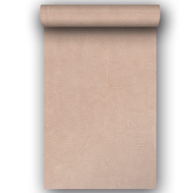 Papier peint vinyle Béton Mat rose fossil