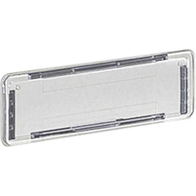 Porte Nom H 2 5 X L 10 X P 0 5 Cm Decayeux Transparent Leroy Merlin