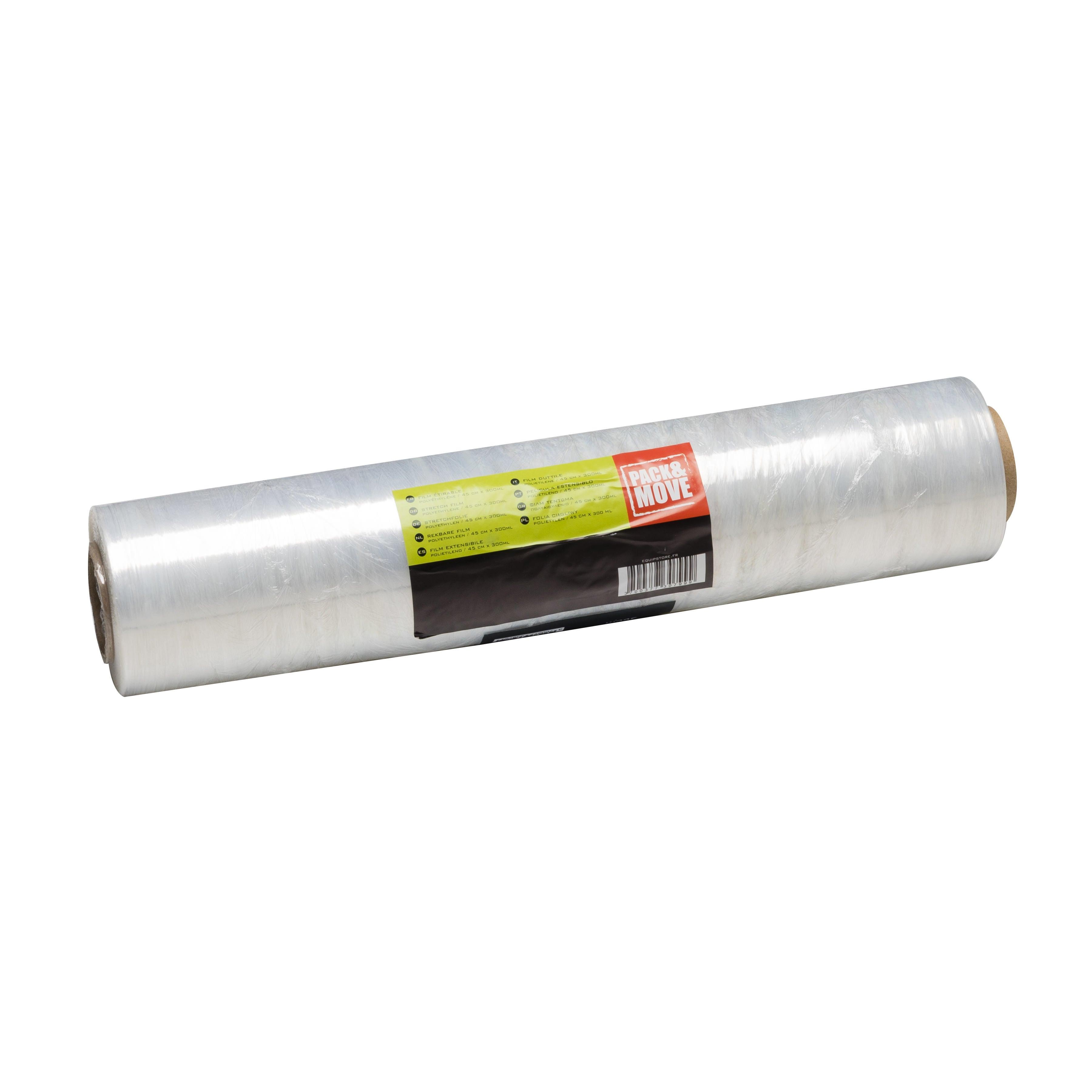 Film Etirable Transparent L 300 M X L 45 Cm Leroy Merlin