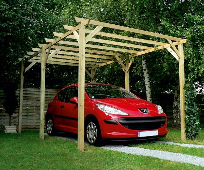 carport pour camping car leroy merlin  alba fun