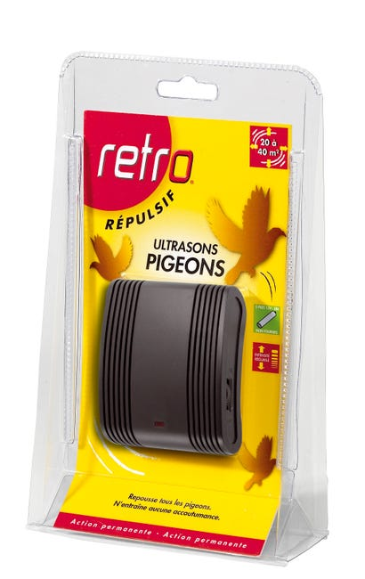 Repulsif Ultrasons Antipigeons Retro Leroy Merlin