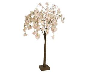 Arbre fleur du cerisier 120cm rose clair