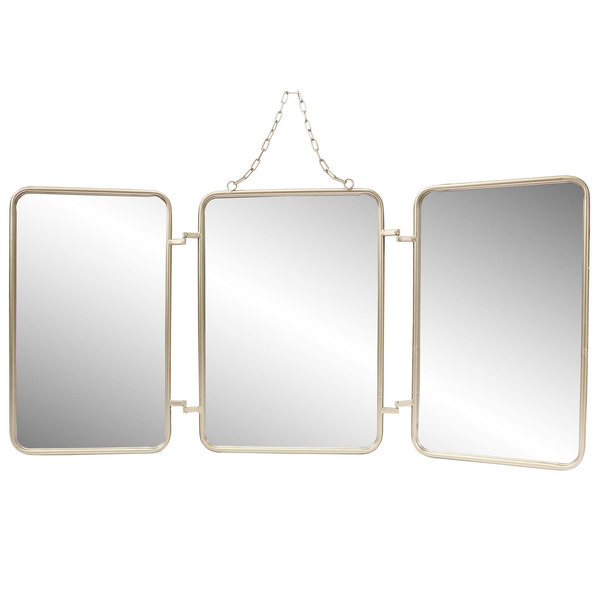 Miroir Triptyque Leroy Merlin