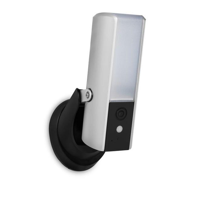 Camera De Surveillance Exterieure Avec Eclairage Par Internet Smartwares Leroy Merlin