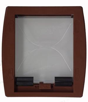 Chatière ABS marron 23.8 x 19.7 cm