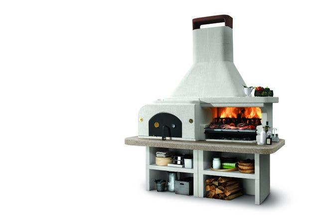 Barbecue Fixe Palazzetti Gargano 3 Beige Leroy Merlin