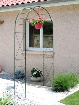 Arche Pour Fleurs Grimpantes Leroy Merlin arche double egt garden l.140 x h.240 x p.40 cm