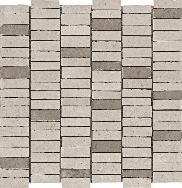 Mosaique Sol Et Mur Petra Gris 30 X 30 Cm Leroy Merlin