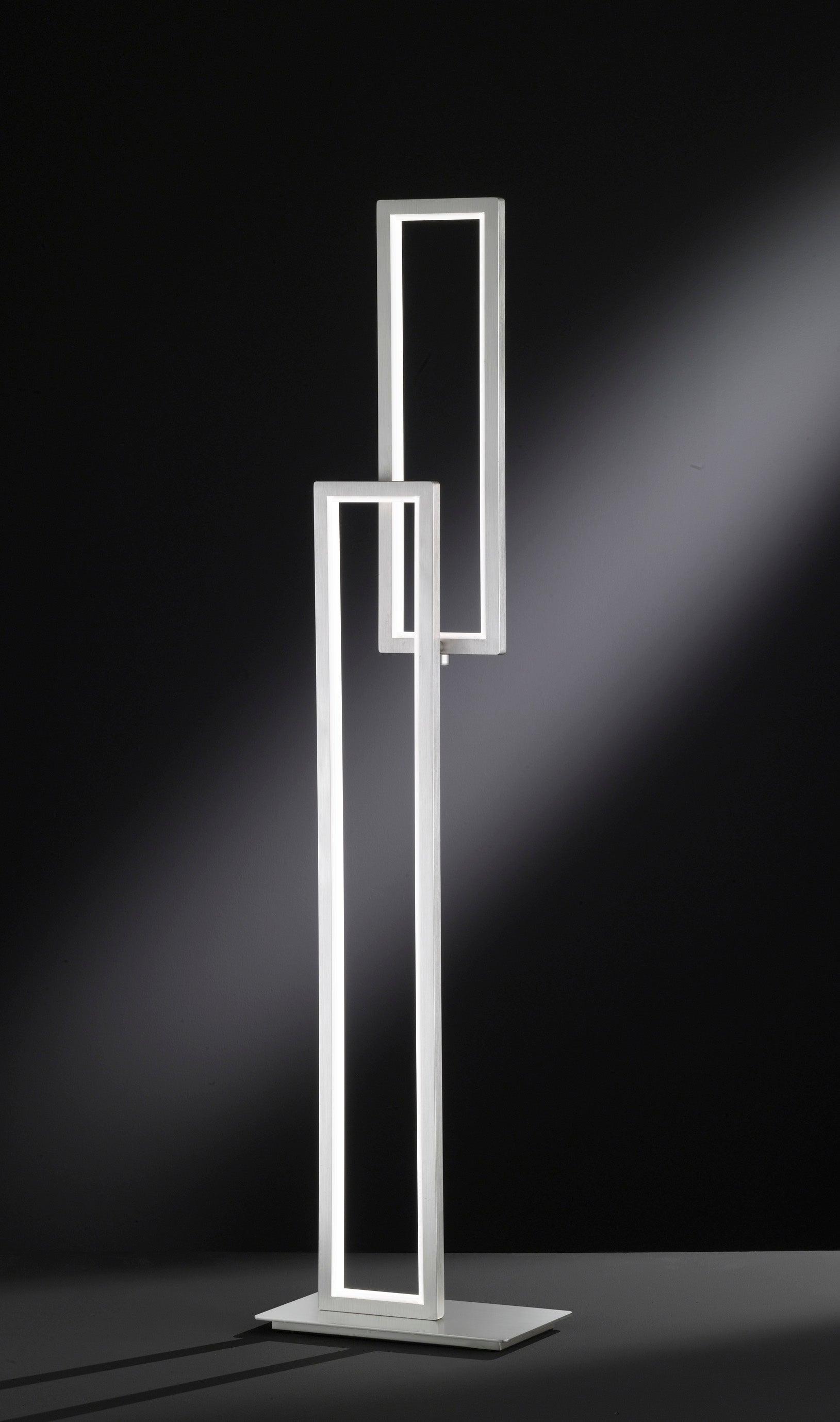 Lampe Design Metal Nickel Wofi Viso Leroy Merlin