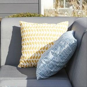 Image : Coussin d'assise de chaise ou de fauteuil Feria, solemio l.40 x H.10 cm