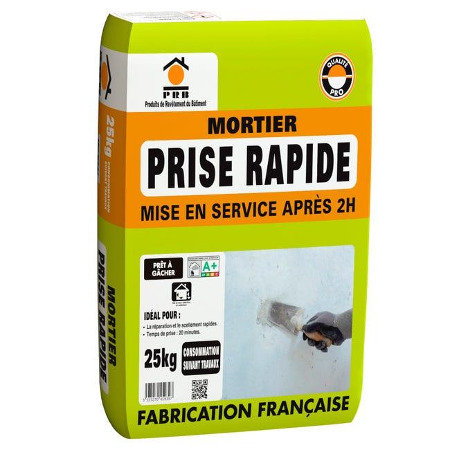 Mortier A Prise Rapide Prb 25 Kg Leroy Merlin