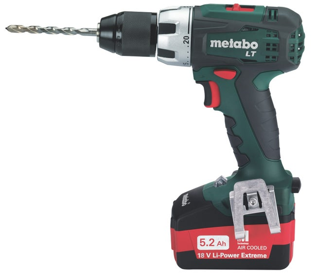 Perceuse Metabo 18 V 2 Ah Bs 18 Lt Asc