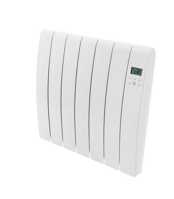 Radiateur Electrique A Inertie Seche 1000w Equation Virtuoso 2 Connect Blanc Leroy Merlin