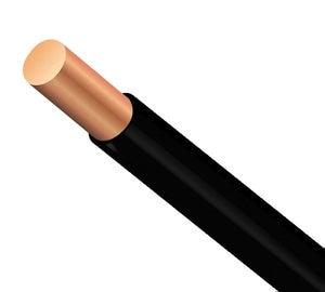 Image : Câble électrique 1 X L.100 m, noir