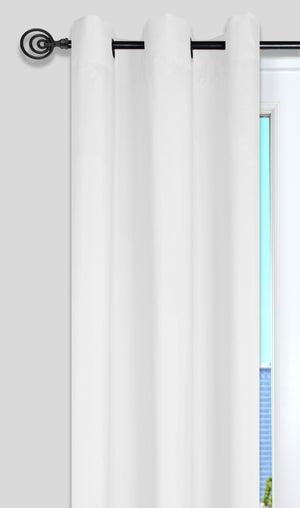 Image : Rideau tamisant, Nelson blanc l.135 x H.240 cm