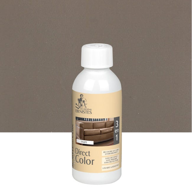 Colorant Cuir Direct Color 250ml Taupe Leroy Merlin