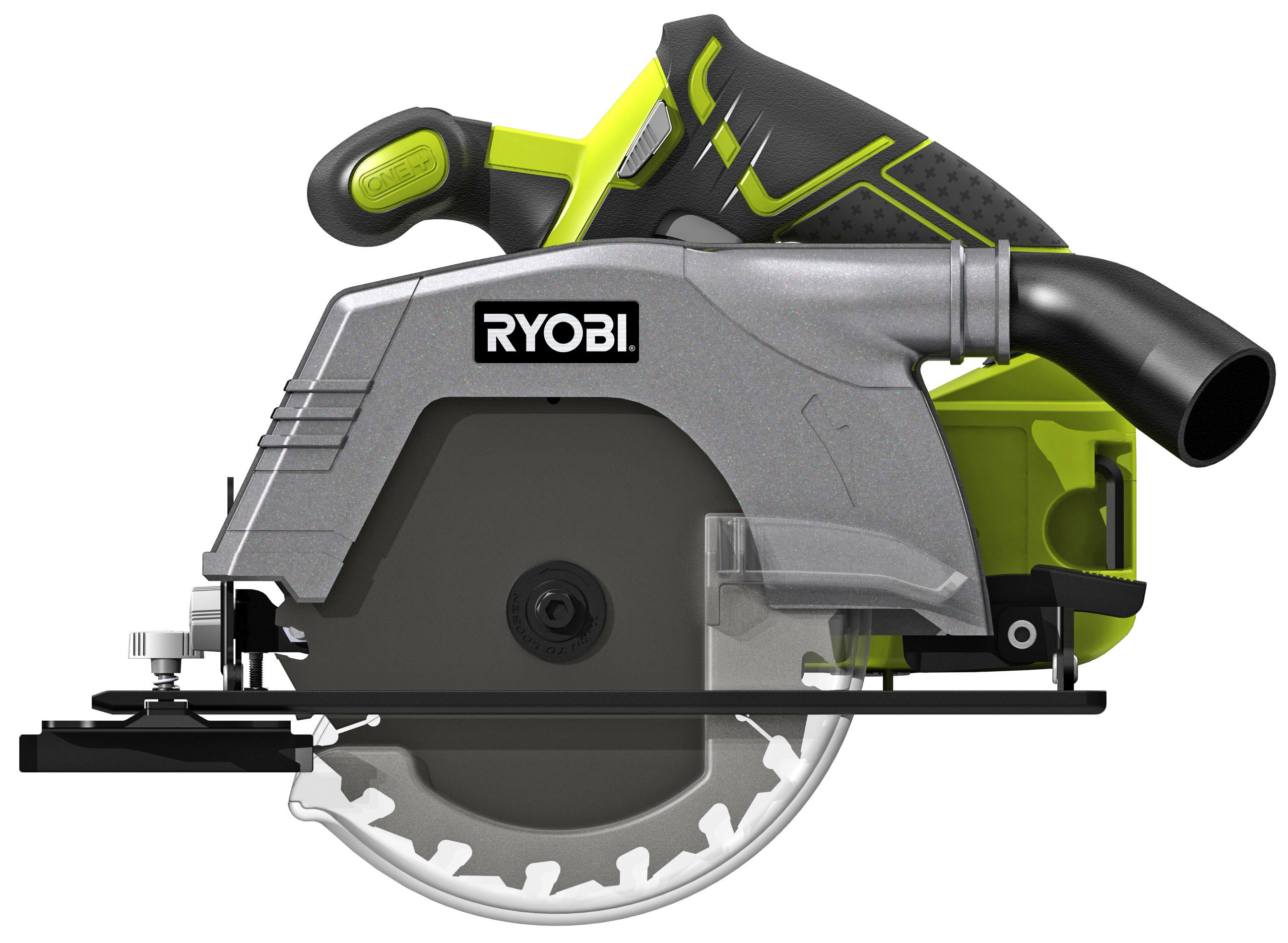 Scie circulaire sans fil RYOBI One+ R18CS-0, 0 batterie