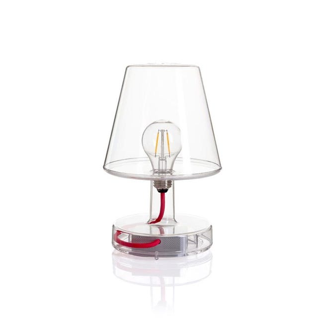 Lampe Design Plastique Transparent Fatboy Transloetje Leroy Merlin