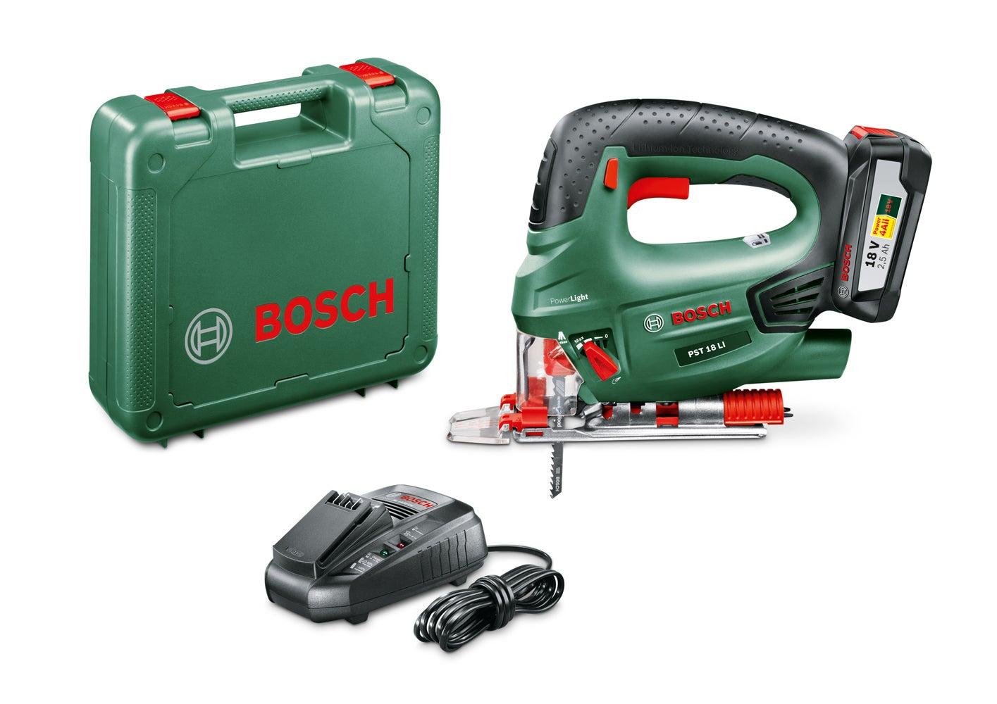 Bosch Batterie-scie sauteuse pst 18 Li dans le carton sans batterie//chargeur