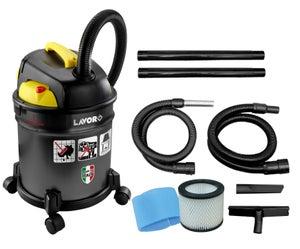 Image : Aspirateur de chantier eau et poussières LAVOR FREDDY 4 EN 1, 18 kPa, 20 l