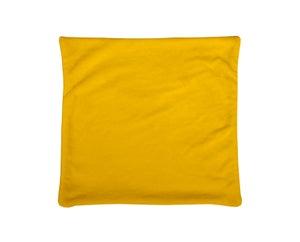 Image : Housse de coussin Doudou, jaune H.60 x l.60 cm