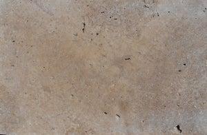 Margelle en pierre naturelle beige/marron, L.100 x l.33 x Ep.3 cm