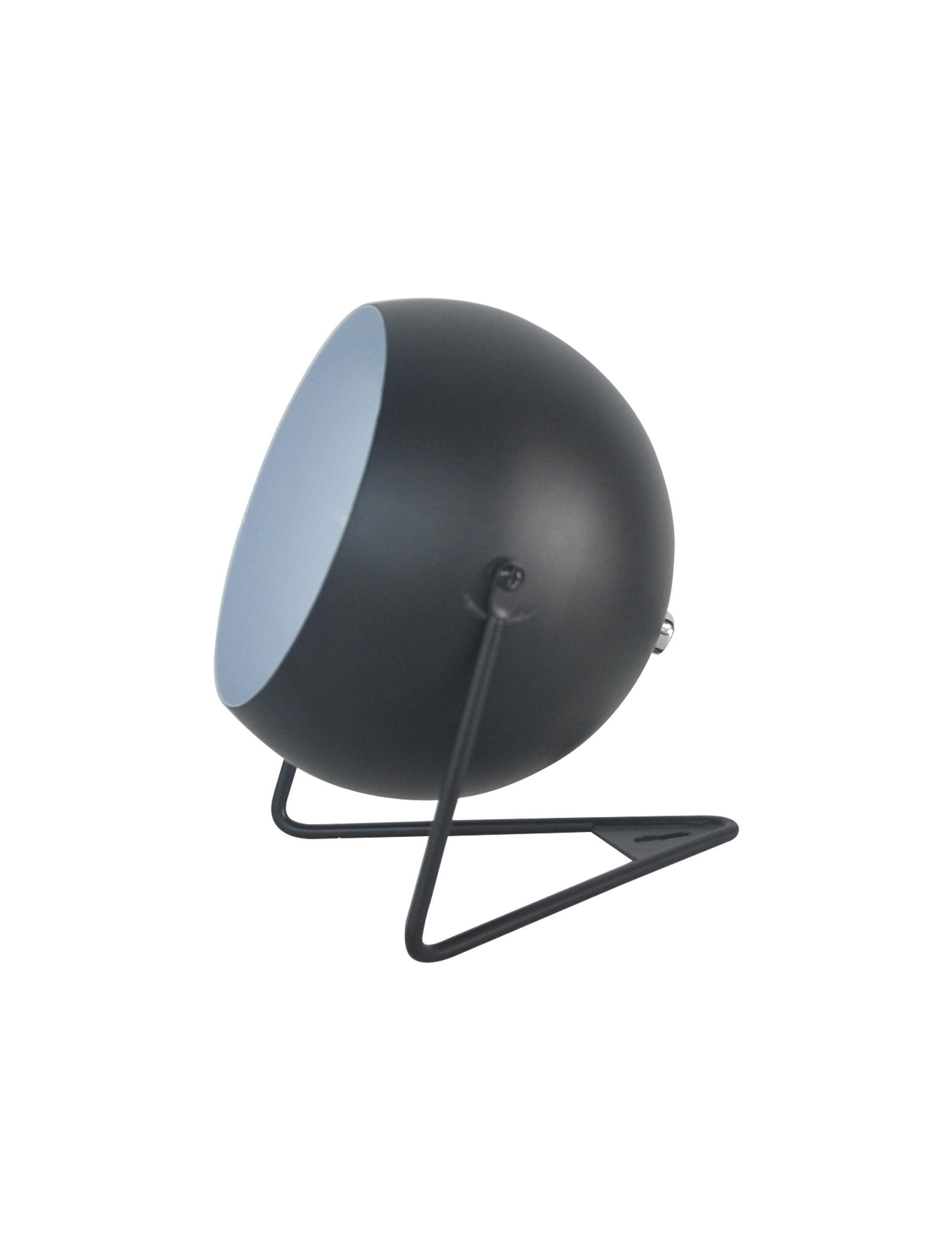 Lampe design métal noir, INSPIRE Bari