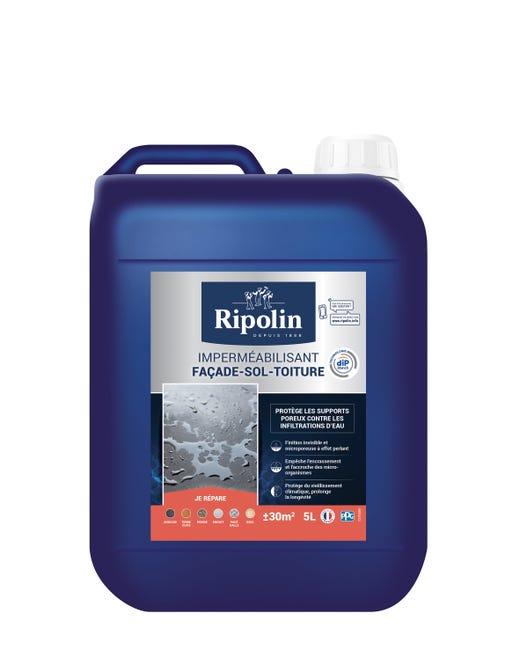 Ripolin Impermeabilisant Facade Et Sol Incolore 5l Leroy Merlin