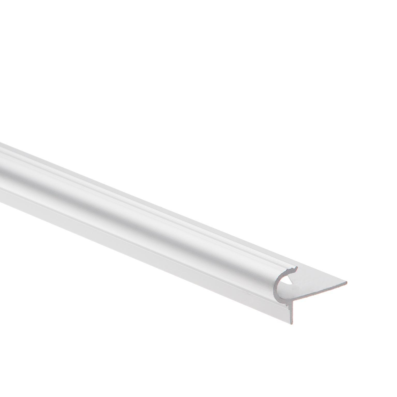 Nez De Marche Arrondi Aluminium 10mm Mat 2 5m Leroy Merlin