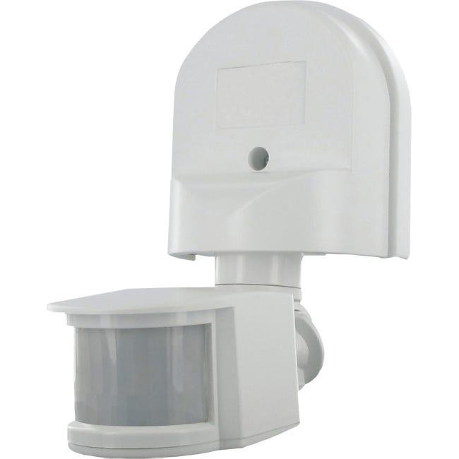 Detecteur De Mouvement Exterieur 180 Es90w Blanc Smartwares Leroy Merlin