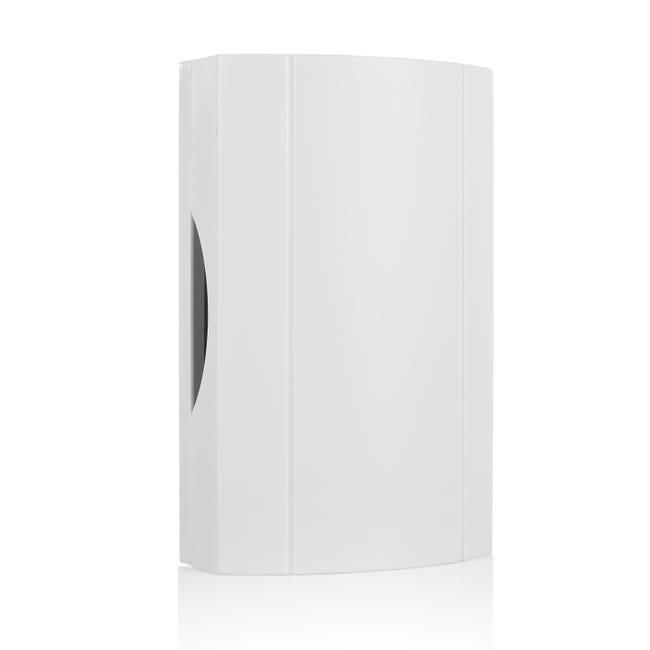 Carillon Filaire Alimente Par Un Transformateur Integre Blanc 776 Smartwares Leroy Merlin