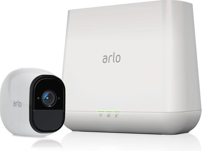 Kit De Videosurveillance Interieur Exterieur Sans Fil Arlo Pro 1 Cam Leroy Merlin