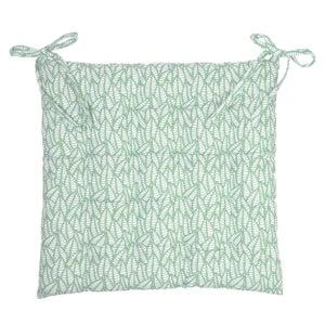 Galette de chaise Laura, vert pâle l.40 x H.40 cm